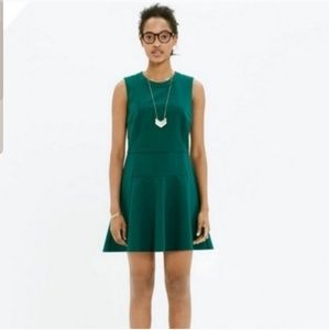 Madewell The Anywhere Green Dress